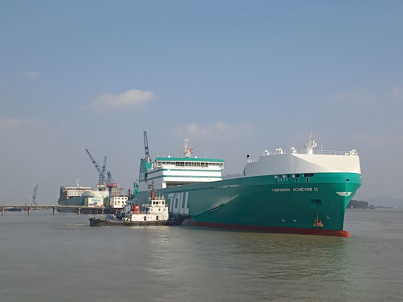 First of two new Ro-Ro vessels delivered
